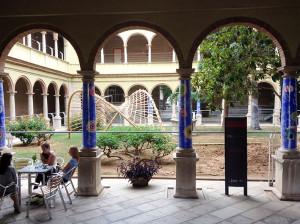 Cláustro de la Escula de Arte y Superior de Diseño, Castellón